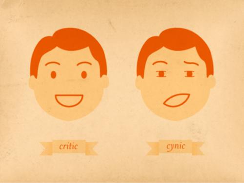 CINISMO- due parole su questa parola-Etimologie e riflessioni