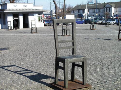 Una piazza. Tante storie. Cracovia.