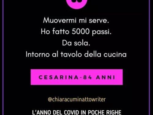 Il Covid in poche righe: Cesarina-84 anni