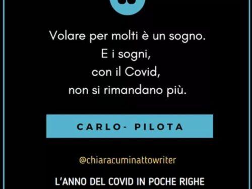 Il Covid in poche righe: Carlo-Pilota