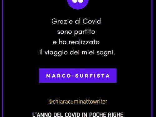Il Covid in poche righe: Marco-Surfista