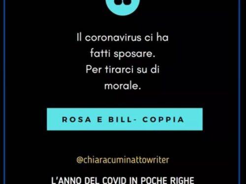 Il Covid in poche righe: Rosa e Bill-Coppia