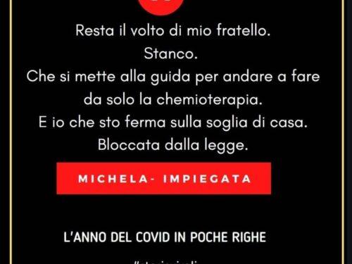 Il Covid in poche righe: Michela- Impiegata